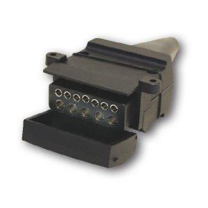 12 Pin Flat Socket