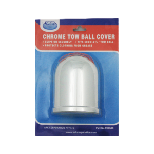 chrome tow ball cover blister