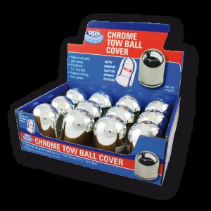 chrome tow ball cover display box
