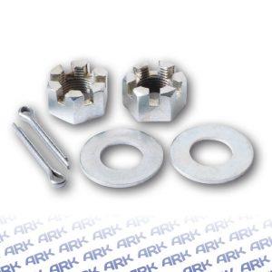 Axle Nuts, Washers & Split Pin