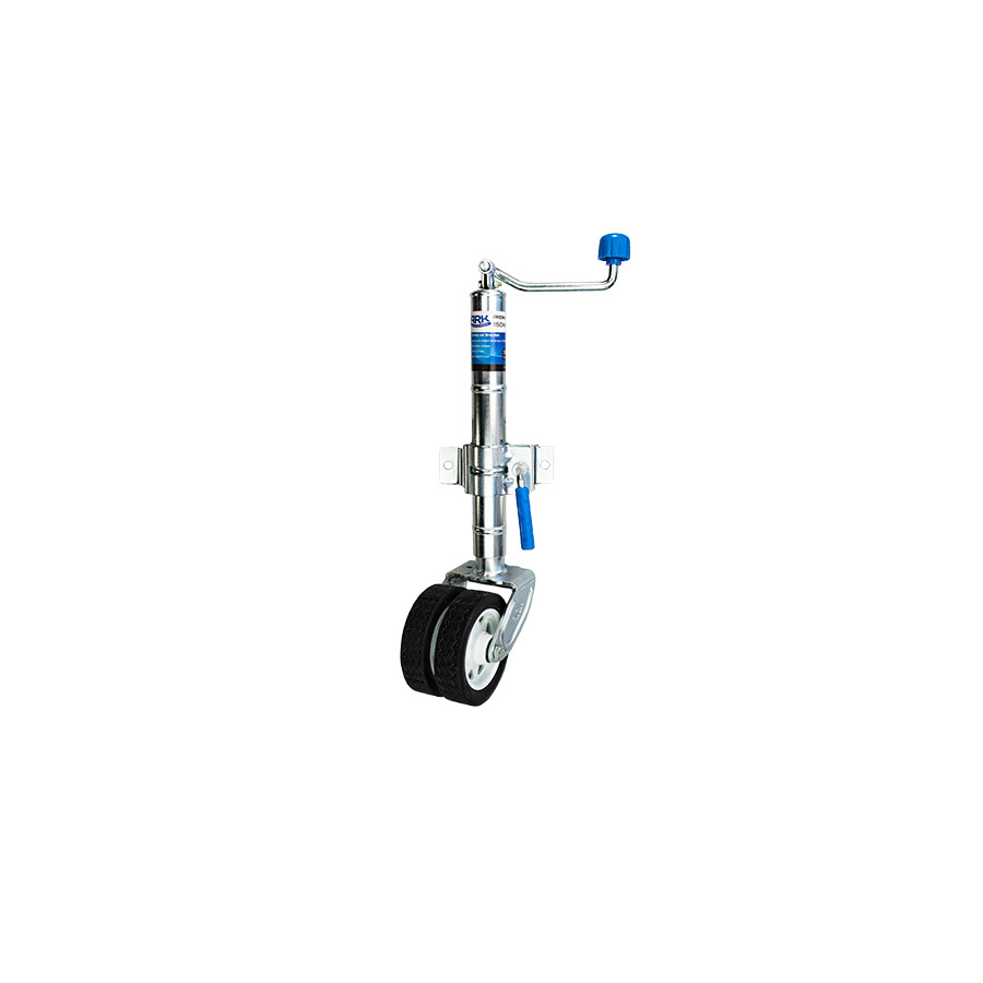 JWP62c Premium Twin Wheel Jockey Wheel