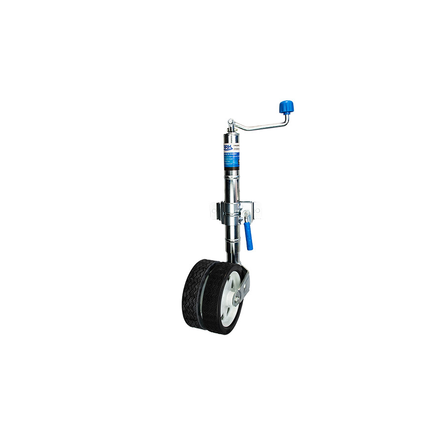 JWP82c Premium Twin Wheel Jockey Wheel